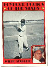 1972 Topps Baseball Cards      343     Willie Stargell KP
